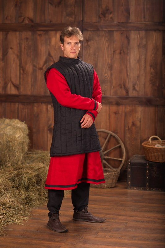 sleeveless padded gambeson by steel mastery