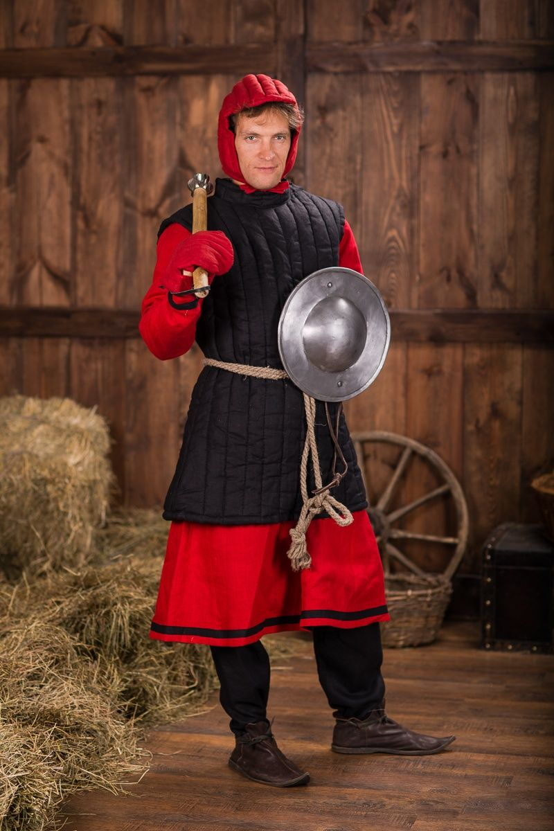 sleevless quilted gambeson by steel mastery