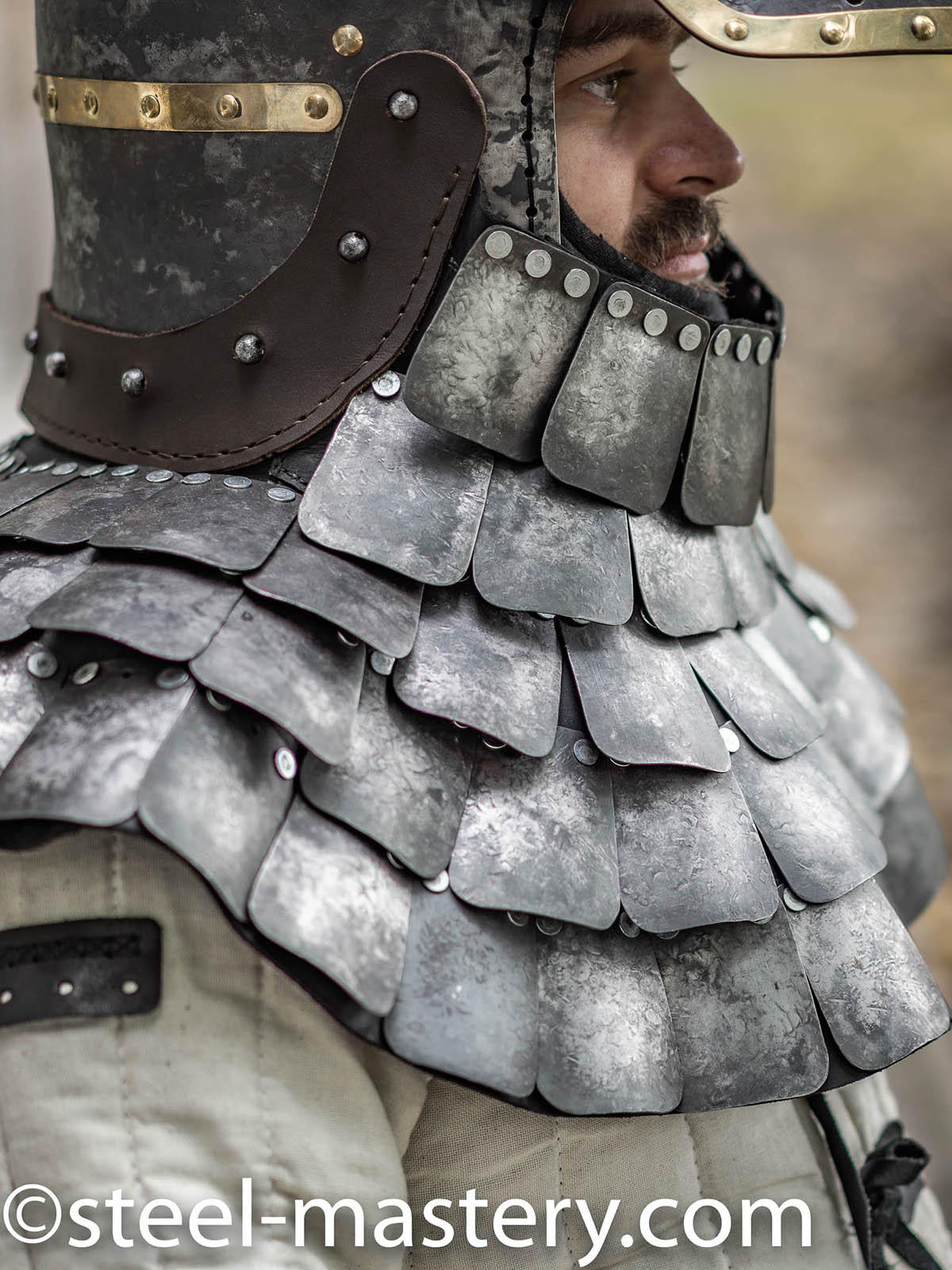 Scale Mail Armor Chain Maille Armor Lamellar Armour For Sale Steel Mastery