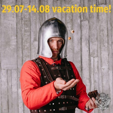 Summer vacation in Steel Mastery 29.07-14.08.2016