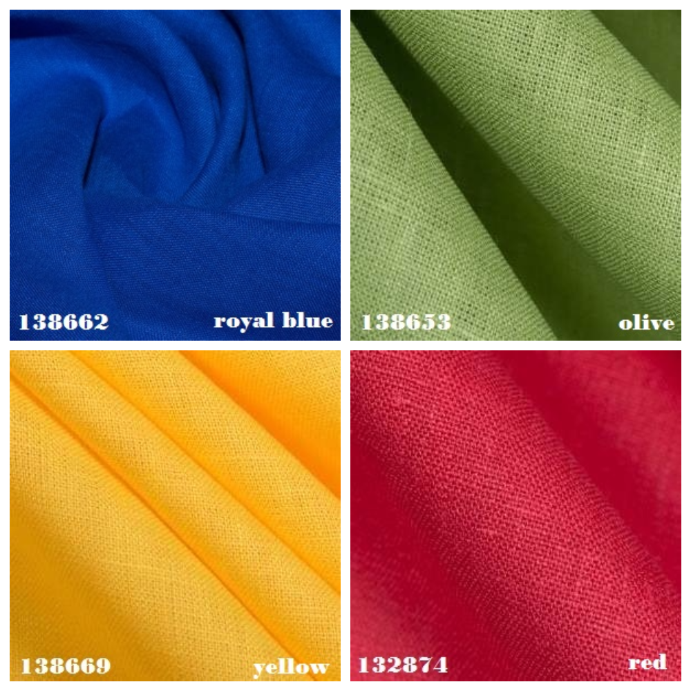 The best colours of linen for the best clothing!