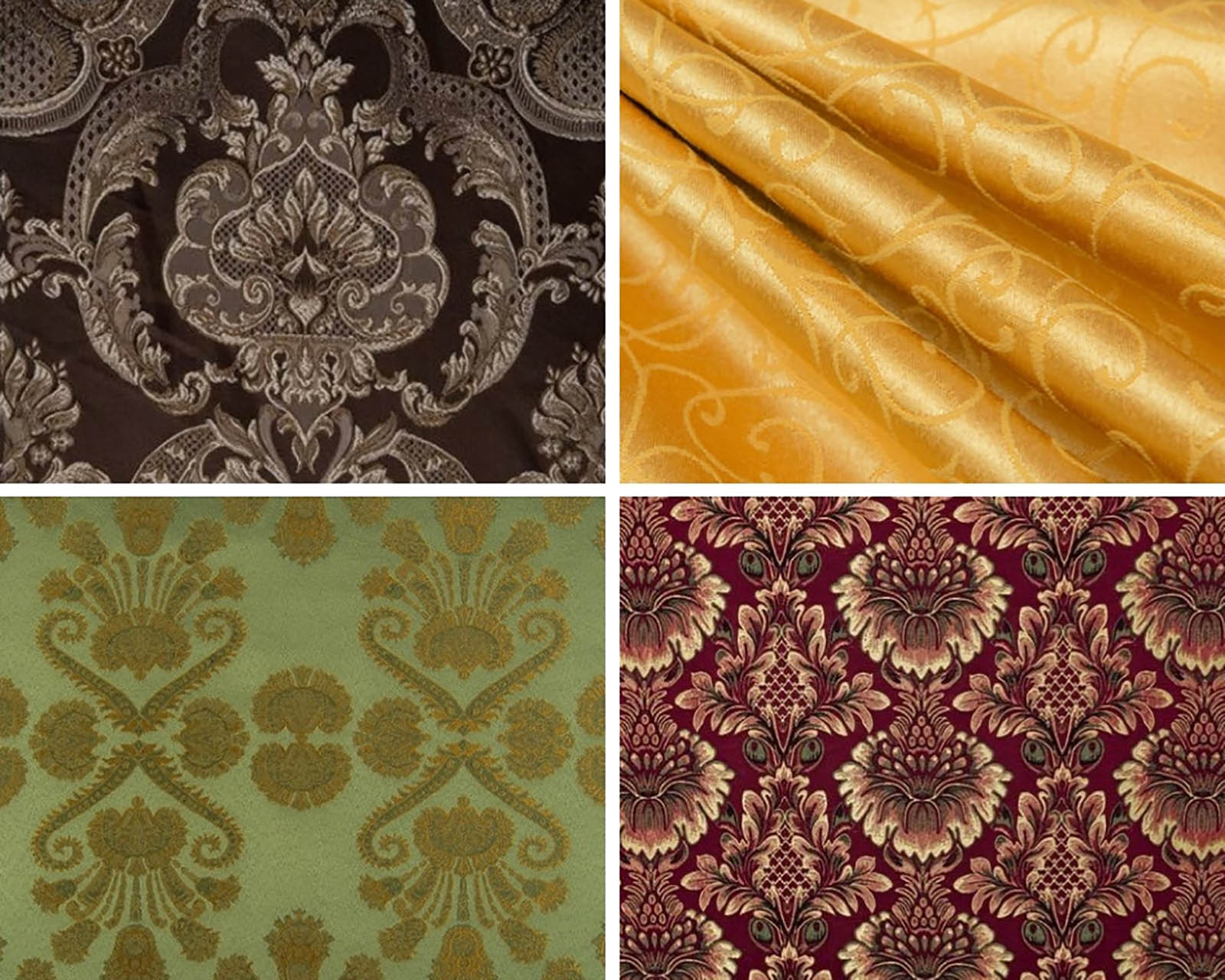 Decorative fabrics in Steel Mastery