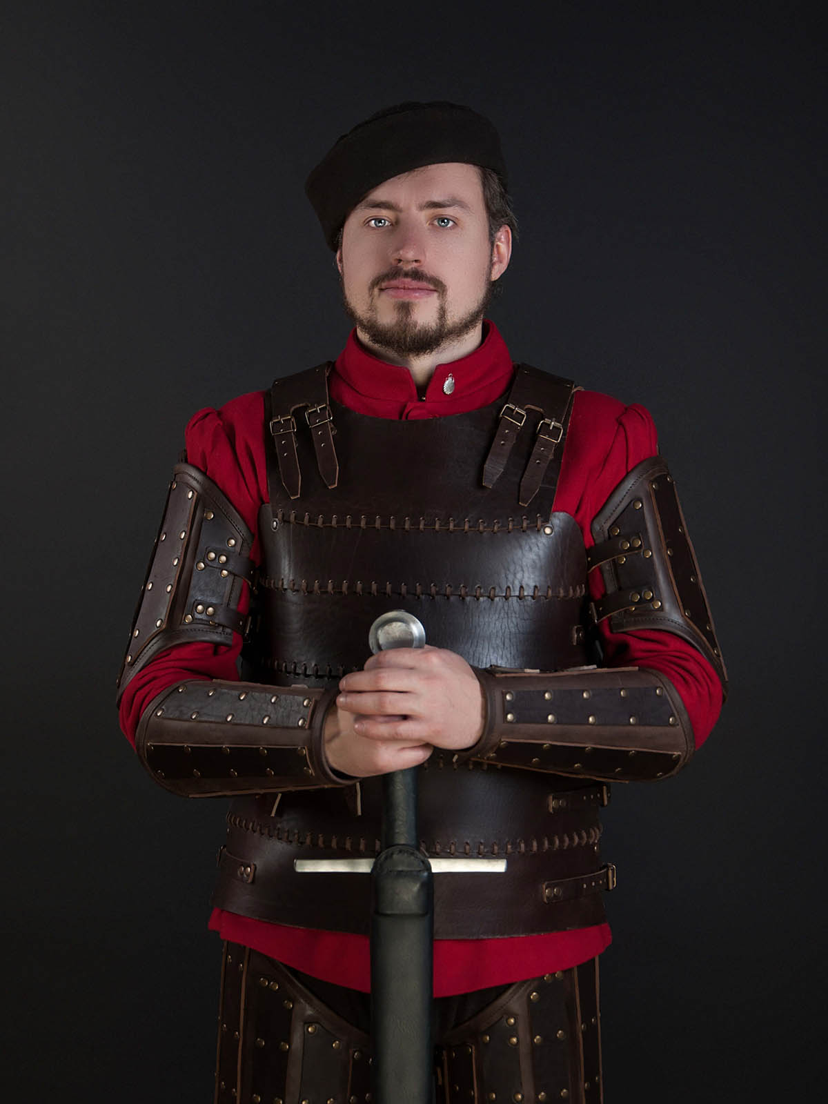Leather costume for LARP and not only