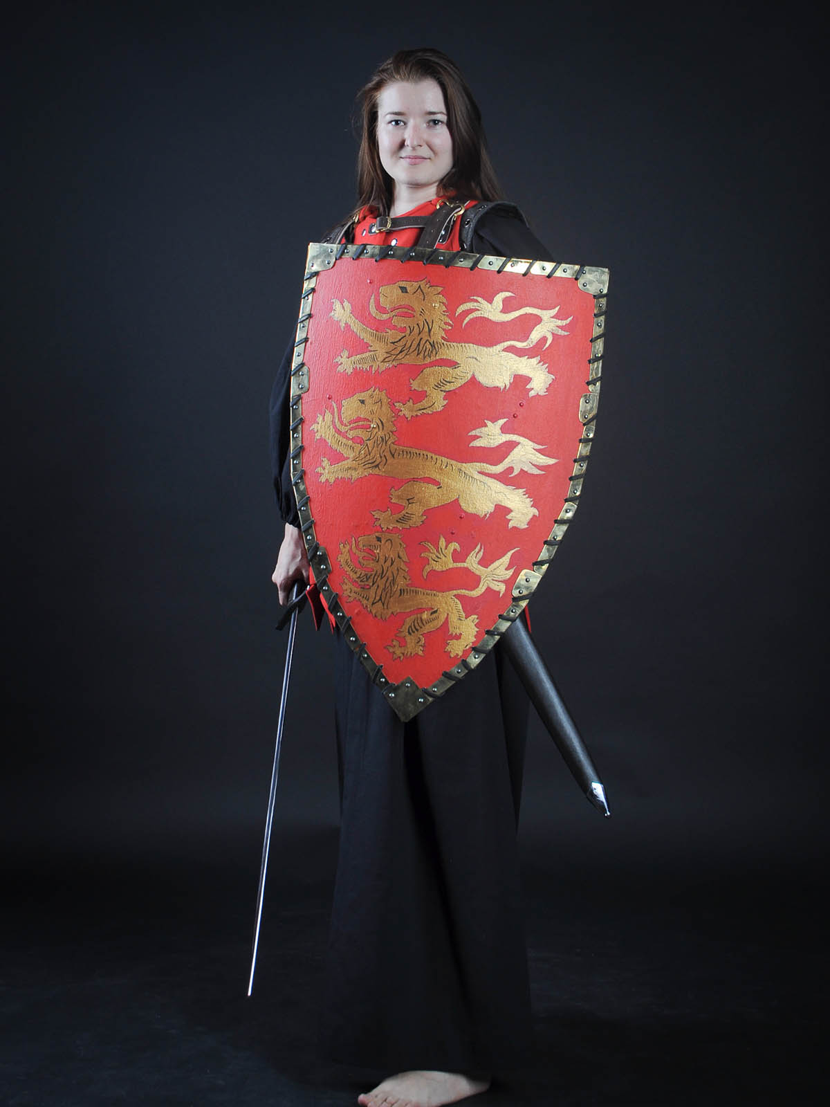 Painted shield - beautiful protection!