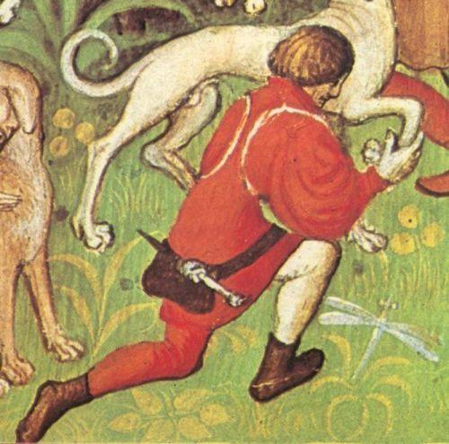 From_a_manuscript_depicting_the_Livre_de_la_Chasse_by_Gaston_Phebus_Bibliothèque_nationale_MS_Français_616_fol_40v_early_15th_century