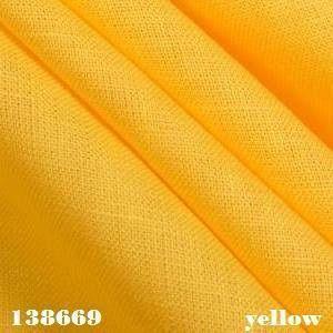 yellow linen