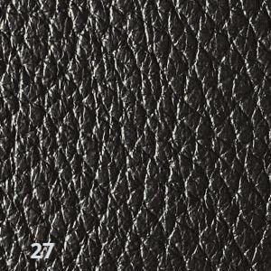 black leather color