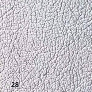 white perlato leather