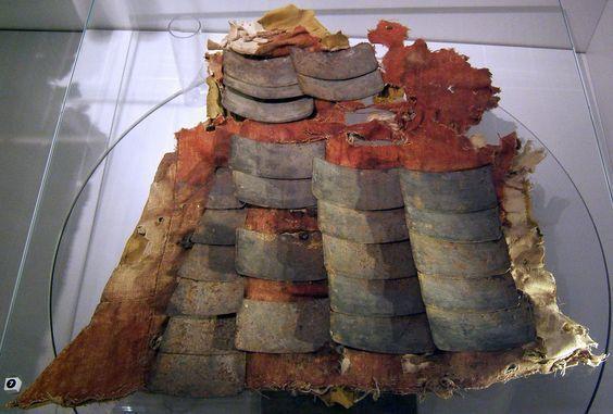 Armor_plates_from_a_brigandine_15th_century_Castel_Tirol_Schloss_Tirol_Italy