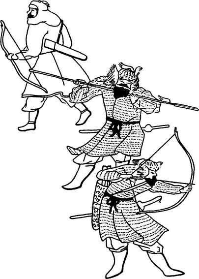 khatangu degel of the xiv century or vest strong as steel Mongolian Yurt
