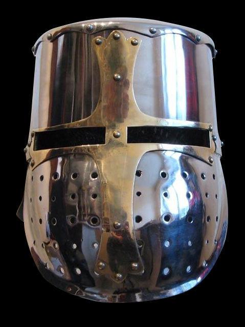 Later faceguard Great Helm