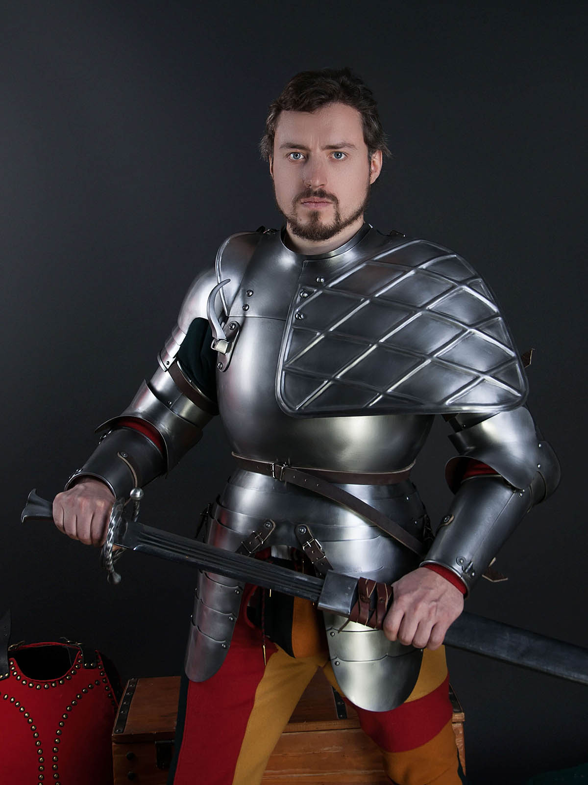 Knight Of Wands As Advice: Jousting Knight Armor, Jousting Equipment, Jousting Outfit