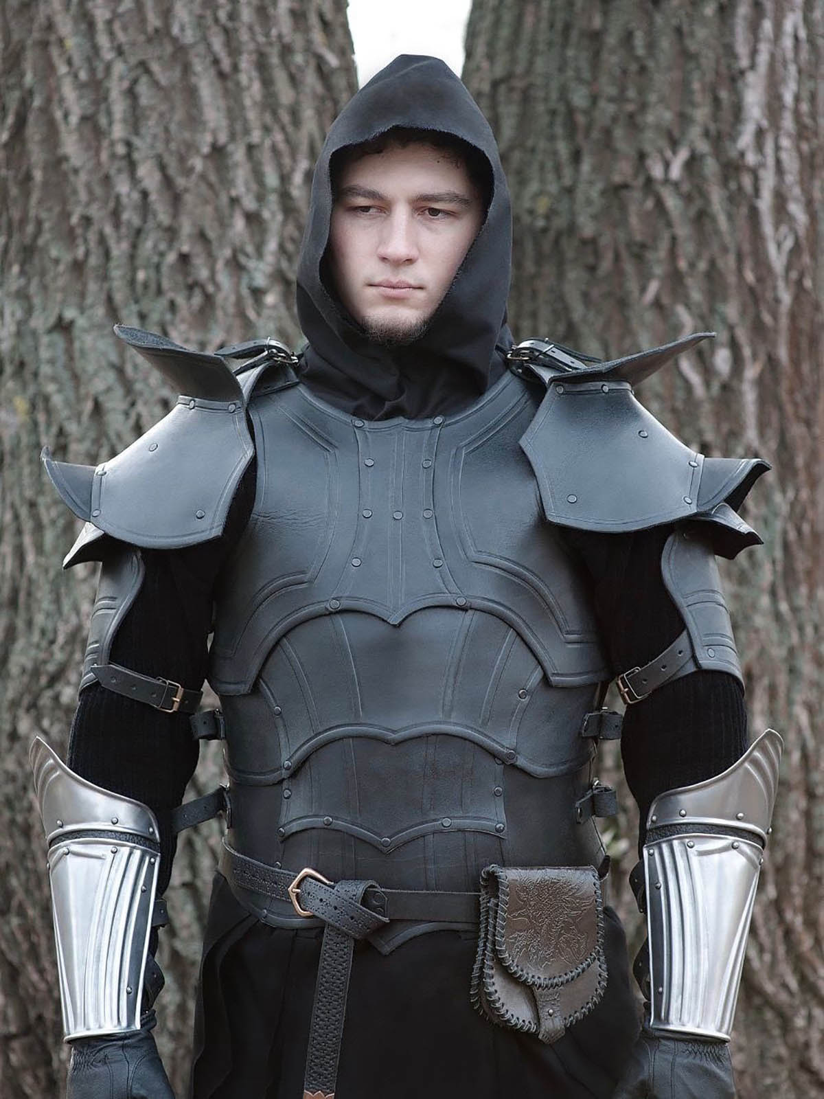 larp armor armor fantasy Larp medieval costume steel armour: breastplate
