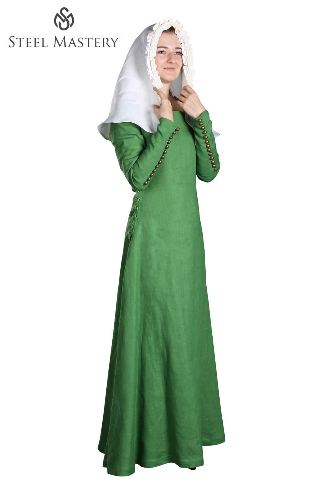4dd599e3d8 English dress of the XIV-XV century ready to ship